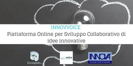 INNOVVOICE Piattaforma Online per Sviluppo Collaborativo di idee innovative