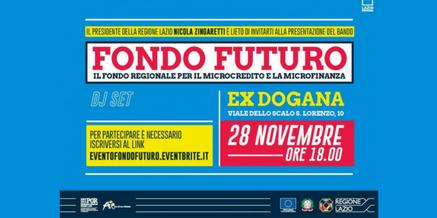 Presentazione Bando Fondo Futuro 2017