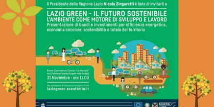 Lazio Green – Il futuro Sostenibile