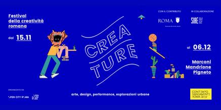 Premio Creature 2017 – Open City Roma