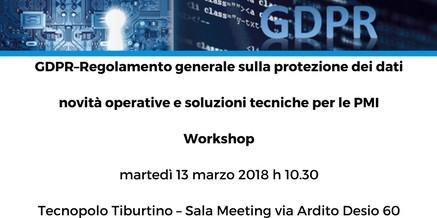 GDPR-Regolamento generale sulla protezione dei dati