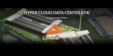 Hyper Cloud Data Center di Aruba al Tecnopolo Tiburtino