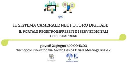 Sistema Camerale nel Futuro Digitale – Portale Registroimprese.it e Servizi