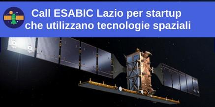 Call ESABIC Lazio per startup che utilizzano tecnologie spaziali