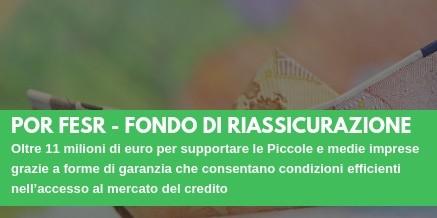 POR FESR, Fare Lazio: Fondo di Riassicurazione