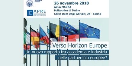 VERSO HORIZON EUROPE – 26 novembre 2018