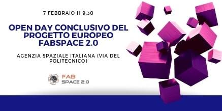 Open Day del Progetto FabSpace 2.0 – Lazio Innova