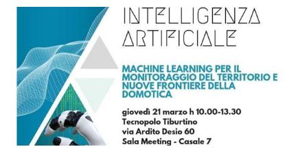 Intelligenza Artificiale: Machine Learning per il monitoraggio del territorio e nuove frontiere della domotica
