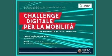 """Challenge """"Digitale per la Mobilità""""  – 10 giugno 2019"""