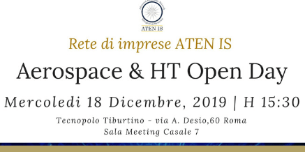ATEN IS – Aerospace & High Technology Open Day