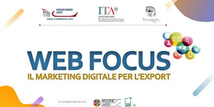 Web Focus – Il Marketing digitale per l'export – Tecnopolo Tiburtino