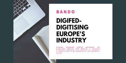 IA e IoT – bando DigiFed-Digitising Europe's Industry