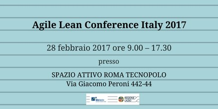 Agile Lean Conference Italy 2017