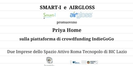 Priya Home sulla piattaforma di crowdfunding IndieGoGo