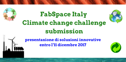 FabSpace Italy – Climate change challenge submission