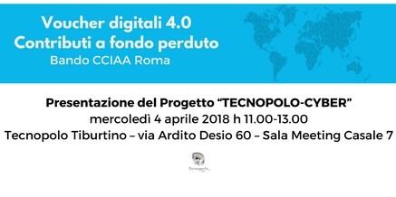 """Voucher digitali 4.0 – Progetto Aggregato """"TECNOPOLO-CYBER"""""""