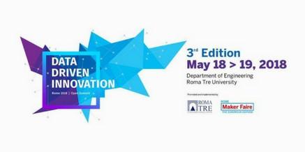 Data Driven Innovation – Terza edizione 18 – 19 maggio 2018