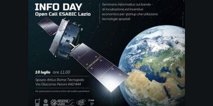Info Day Call ESABIC Lazio – Spazio Attivo Roma Tecnopolo