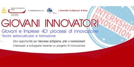 Giovani Innovatori: Giovani e imprese 4.0: processi di innovazione