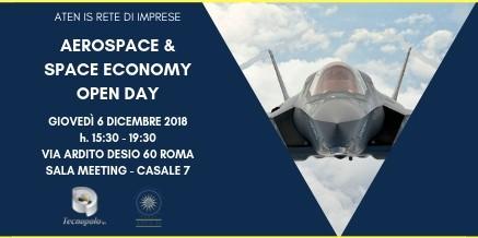ATEN IS RETE DI IMPRESE  AEROSPACE&SPACE ECONOMY OPEN DAY