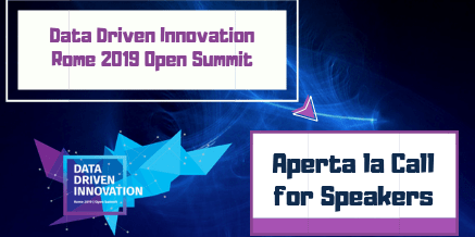 Data Driven Innovation – Rome 2019 Open Summit