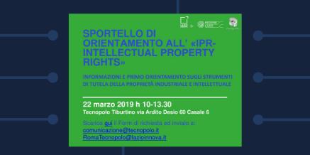 Sportello IPR 22 marzo 2019- Tecnopolo