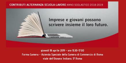 Bando Alternanza Scuola – Lavoro A.S. 2018/19
