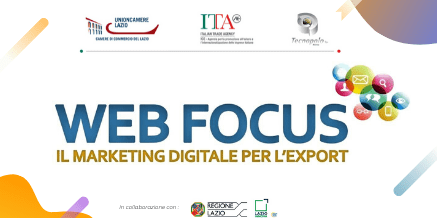 Web Focus – Il Marketing digitale per l'export – Tecnopolo Tiburtino