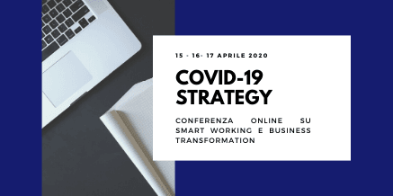 COVID-19 STRATEGY – CONFERENZA ONLINE