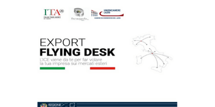 EXPORT FLYING DESK LAZIO ICE – MARTEDI' 22 SETTEMBRE 2020