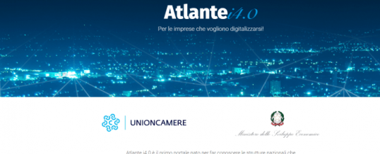 MISE: online Atlante i4.0