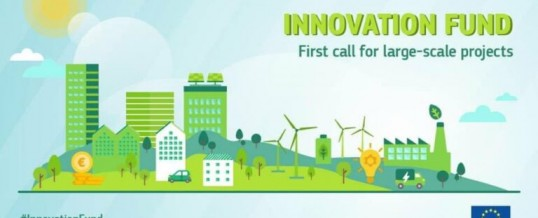 Fondo Europeo Innovazione – Progetti tecnologici nel settore green