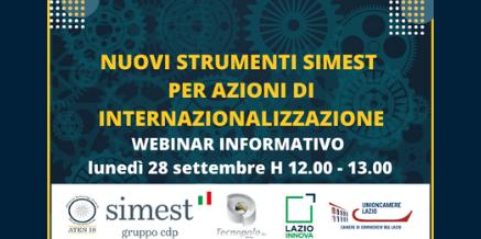 Nuovi strumenti SIMEST per l'internazionalizzazione