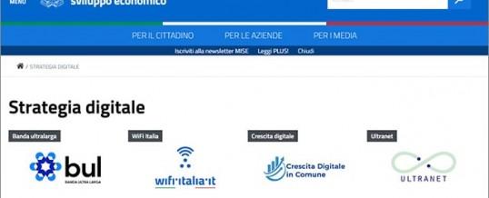 Online la piattaforma sulla Strategia Digitale