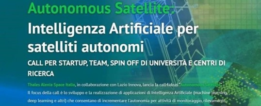Open Innovation Challenge di Thales Alenia Space Italia