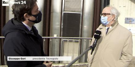 Servizio di Rai News sul Tecnopolo di Castel Romano