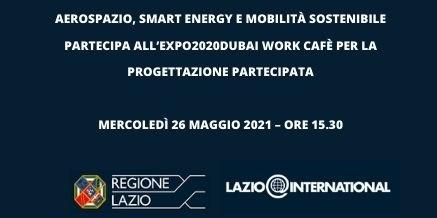 Partecipa all'EXPO2020DUBAI WORK CAFÈ per la progettazione partecipata